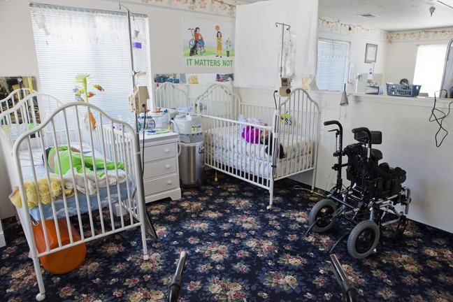 LAST DAYS:  Unable to comply with certain health department requirements, such as building walls between clients' beds, the De Groot Nursing Home for Children is forfeiting its license and letting its seven paid nurses go. - FILE PHOTO BY COLIN RIGLEY