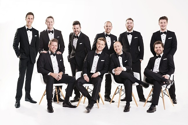 "HOLIDAY VOICES:  The Ten Tenors bring their ""Home for the Holiday"" concert to the Performing Arts Center on Dec. 1. - PHOTO COURTESY OF THE TEN TENORS"