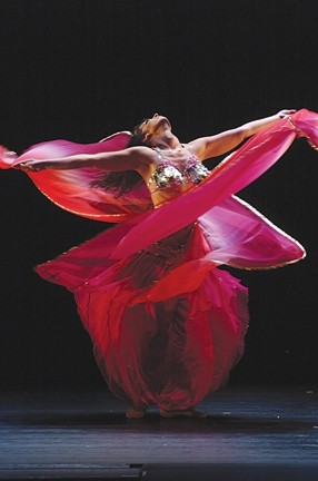 BELLYDANCE SUPERSTARS :  Sept. 27 at 7 p.m. at the Spanos Theatre. $35-45. bellydancesuperstars.com. - PHOTO COURTESY OF BELLYDANCE SUPERSTARS