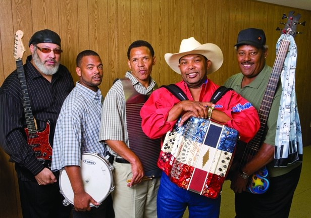 DEEP SOUTH :  See Zydeco masters Jeffery Broussard & the Creole Cowboys on Sept. 30 at Cal Poly's Alex and Faye Spanos Theatre. - PHOTO COURTESY OF JEFFERY BROUSSARD & THE CREOLE COWBOYS