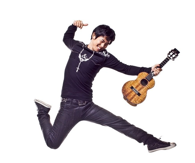 UKE MASTER!:  Incredible ukulele player Jake Shimabukuro plays the PAC on Feb. 16. - PHOTO BY MERRI CYR