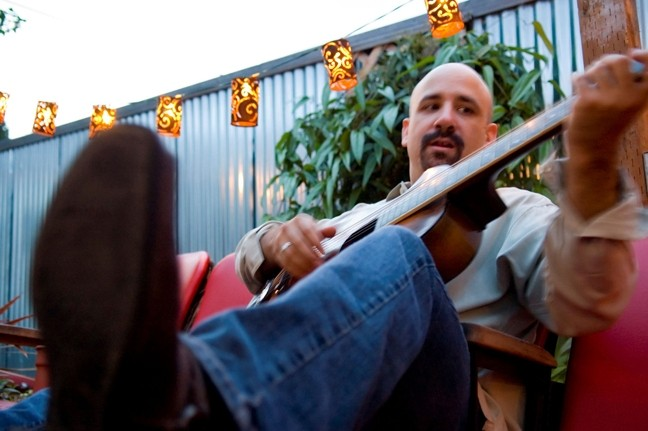 FURTADO RETURNS!:  Americana slide guitarist, banjo master, and singer-songwriter Tony Furtado plays March 9 at Shell Café. - PHOTO COURTESY OF TONY FURADO