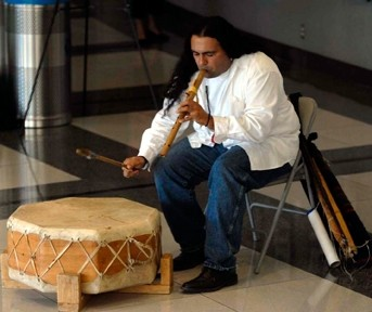 EVOKING TRADITION :  A Native American flute workshop with Lance Canales takes place on Aug. 16 from noon to 4:30 p.m. in Cambria. Sign up in advance. $80. Flutes supplied or bring your own. A concert takes place that evening at 7 p.m. $10 for public and free to workshop part - IMAGE COURTESY OF LANCE CANALES
