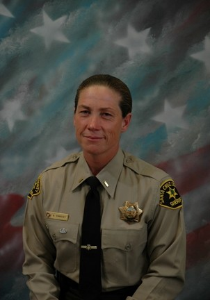 HAIL THE CHIEF :  Amy Christey, currently a lieutenant for the Santa Cruz Sheriff's Department, will be sworn in as chief of police for Morro Bay on Nov. 13. She'll relieve Mike Lewis, who came out of retirement to serve as interim chief during the half-year search for former Chief Tim Olivas' permanent replacement. - PHOTO COURTESY OF THE CITY OF MORRO BAY