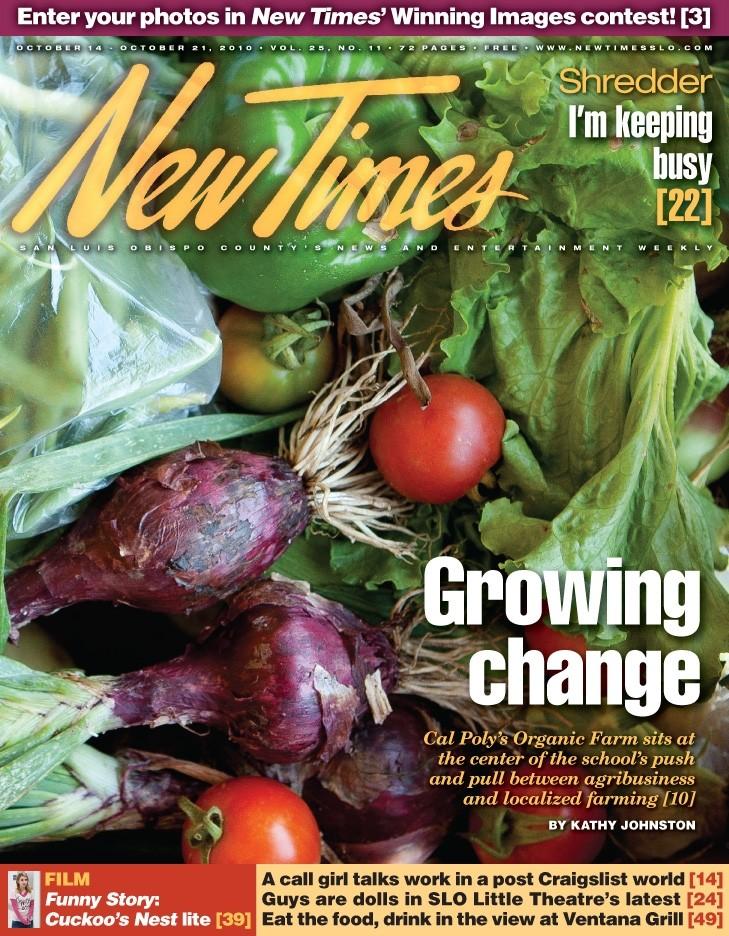 Into The Ground News San Luis Obispo New Times San Luis Obispo