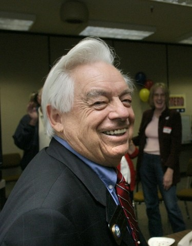 STILL ON TOP :  Mayor Dave Romero was reelected to the city's top job in November. The mayoral election was characterized by Matt Mackey, a Cal Poly student who won 20 percent of the vote. Romero said he was confident going into the election. In his next term, Romero said he would like to see the Marketplace referendum pass.