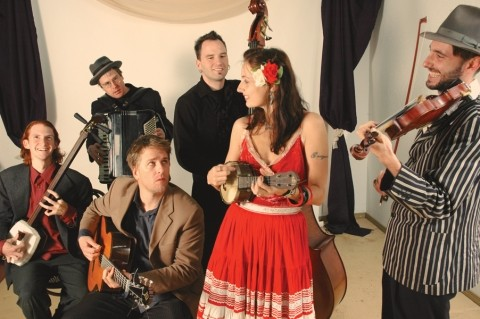 GO FISH! :  Fishtank Ensemble plays an unusual blend of Gypsy, Balkan, flamenco, klezmer, and original tunes. See them at artMind Studios Oct. 27. - PHOTO COURTESY OF FISHTANK ENSEMBLE