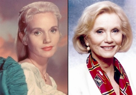 "YESTERDAY AND TODAY:  Eva Marie Saint, this year's King Vidor Memorial Award winner, has enjoyed a 50-year film career and is still going strong, with two new films coming out next year. She'll receive her award Oct. 23 at the Fremont during a screening of her 1962 film classic, ""All Fall Down."" - PHOTOS COURTESY OF GOOGLE IMAGES AND EVA MARIE SAINT, RESPECTIVELY"