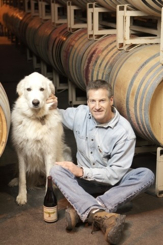 LEADER OF THE PACK :  John Alban, a Central Coast Rhone specialist, makes Grenache, a vigorous and up-and-coming varietal. - PHOTO BY STEVE E. MILLER