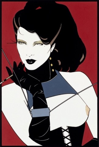 MISSING MADAME :  Just Looking Gallery reported the early-morning theft of a $900 Patrick Nagel gicle e print on Sept. 14. - IMAGE COURTESY OF PATRICK NAGEL AND JUST LOOKING GALLERY