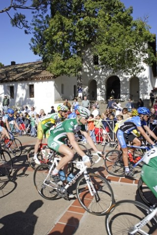 WHEELING IN :  The Amgen Tour of California is rolling through San Luis Obispo again, bringing scores of riders and tons of spectators. This year will also see a tougher stance against performance enhancements. - PHOTO BY STEVE E. MILLER
