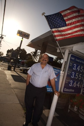 GAS MAN :  County Supervisor Katcho Achadjians gas stations have kept him from voting with his fellow supervisors on whether to sell a portion of the Oceano Dunes to the state. - PHOTO BY JESSE ACOSTA