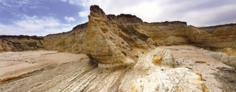 """MONTANA DE ORO BLUFFS� HONORABLE MENTION LAND/SEASCAPE COLOR: - JONATHAN SHAPIRO"