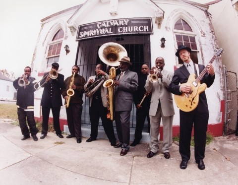 KEEPING IT REAL :  The Dirty Dozen Brass Band, touring in support of What's Going On, their recreation of Marvin Gaye's classic album, plays Downtown Brew on June 28. - PHOTO COURTESY OF THE DIRTY DOZEN BRASS BAND