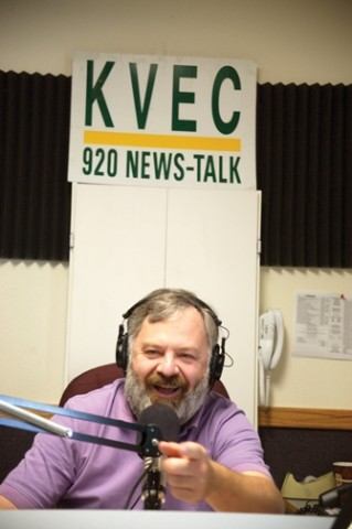POPULAR VOICE :  Dave Congaltons drive-time talk show on KVEC is the No. 1 radio talk show on the Central Coast in terms of listeners, according to KVECs web site. - PHOTO BY JESSE ACOSTA