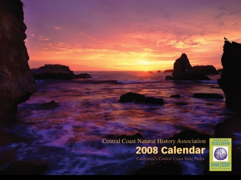 BY THE SEA :  The Central Coast Natural History Association is unveiling its new calendar, so all you get to see for now is the cover. - IMAGE COURTESY OF THE CENTRAL COAST NATURAL HISTORY ASSOCIATION