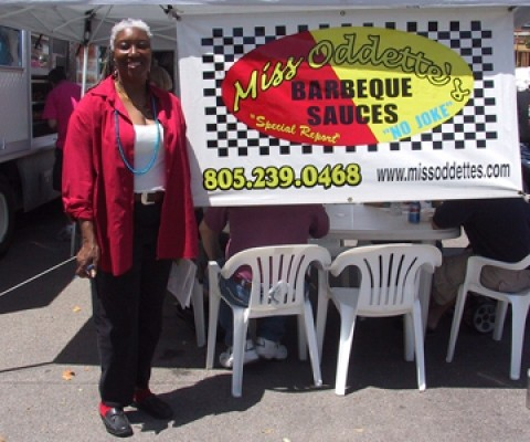 SPICE FOR LIFE :  Miss Odette makes hot sauce to complement burgers, ribs, chops, steaks, poultry, and just about anything you can dream up. One fan of the sauce even claims that it goes well on corn flakes. - PHOTO COURTESY OF MISS ODETTE