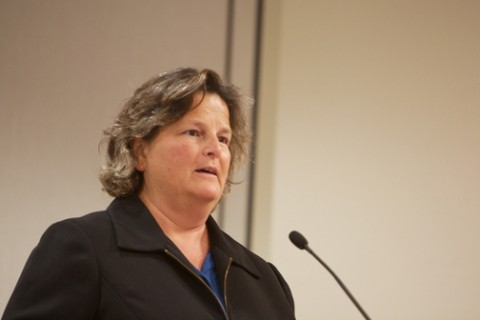 SCHICKER SHOCK :  CSD director Lisa Schicker endured criticism from political opponents for voting to help finance the legal defense of the Los Osos 45. - PHOTO BY JESSE ACOSTA