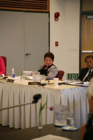 HEADING OUT :  Cuesta College president Marie Rosenwassers resignation will be effective Dec. 31. The district board of trustees is planning to discuss a search for someone to take her place. - PHOTO BY JESSE ACOSTA