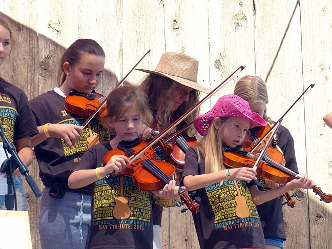 FAMILY FUN:  The Parkfield Bluegrass Festival features a great kids talent show and fun for the whole family, May 5-8, in Parkfield. - PHOTO COURTESY OF THE PARKFIELD BLUEGRASS FESTIVAL