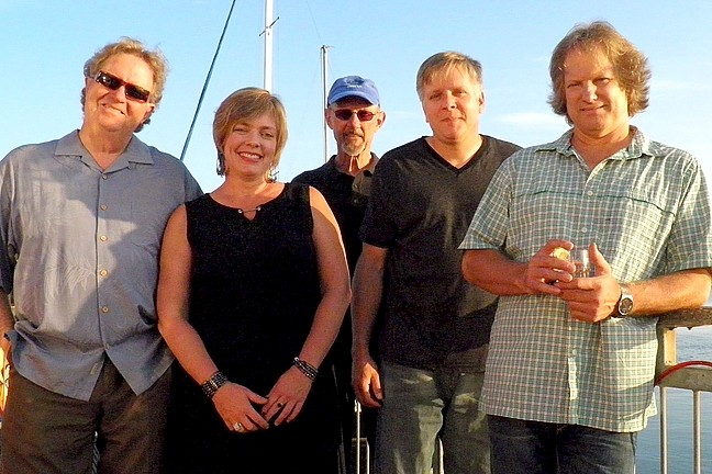 FUNKY BLUES GLASS:  Back Bay Betty brings their originals, classics, and funky blues to the Cayucos Sea Glass Festival on March 12 near the Vets Hall. - PHOTO COURTESY OF BACK BAY BETTY