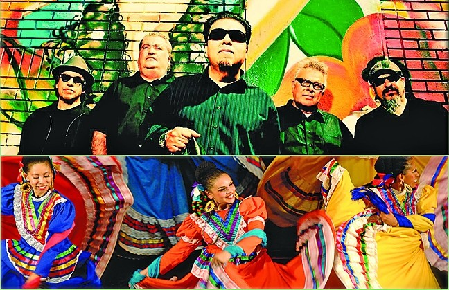 VIVA MEXIMERICANA:  Don't miss the Fiesta Mexico-Americana with Los Lobos and Ballet Folklorico Mexicano on Jan. 22 at 8 p.m. in the Performing Arts Center (tickets at 756-4849). - IMAGE COURTESY OF CAL POLY ARTS
