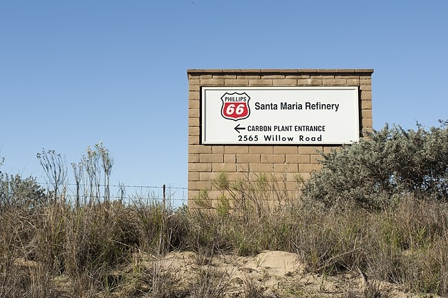 OFF THE TRACKS?:  SLO County staff say they need more information and nearly $300,000 from oil giant Phillips 66 to continue to hearings for the company's proposed rail spur project. - FILE PHOTO