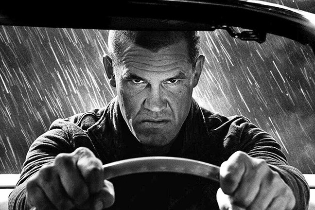 MAN ON A MISSION:   In 'Sin City: A Dame to Kill For,' Josh Brolin plays Dwight, a private detective who keeps falling for the wrong woman. - PHOTO COURTESY OF ALDAMISA ENTERTAINMENT AND DEMAREST FILMS