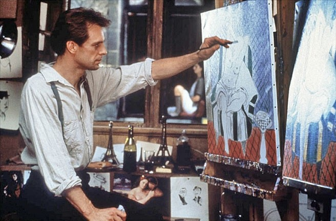 "ARTIST OR MERE FORGER:  Nick Hart (Keith Carradine) is an American expatriate artist living in 1926 Paris, who's still in love with his estranged wife though she's now ""married"" to a jealous and sadistic rich businessman. - PHOTO COURTESY OF NETFLIX"