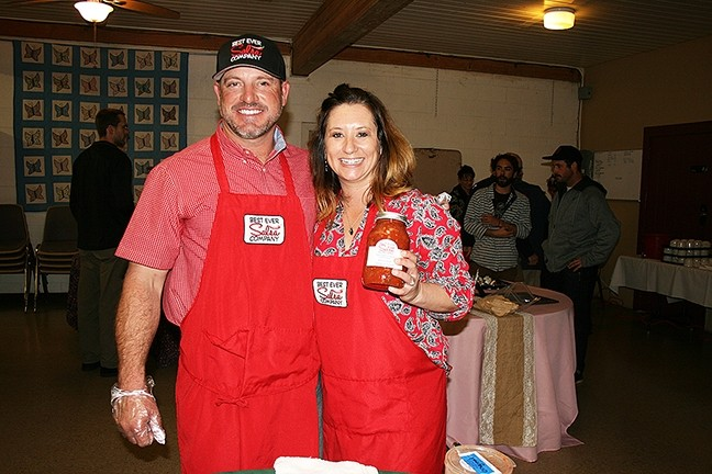 MONEY WHERE YOUR MOUTH IS:  Best Ever Salsa Company was first started as a hobby by Curtis and Karli Twisselman of Paso Robles, and grew into a full-fledged business. With help from local nonprofit Slow Money SLO, the couple is now in the middle of a peer-to-peer lending campaign that could boost their success. - PHOTO BY HAYLEY THOMAS CAIN