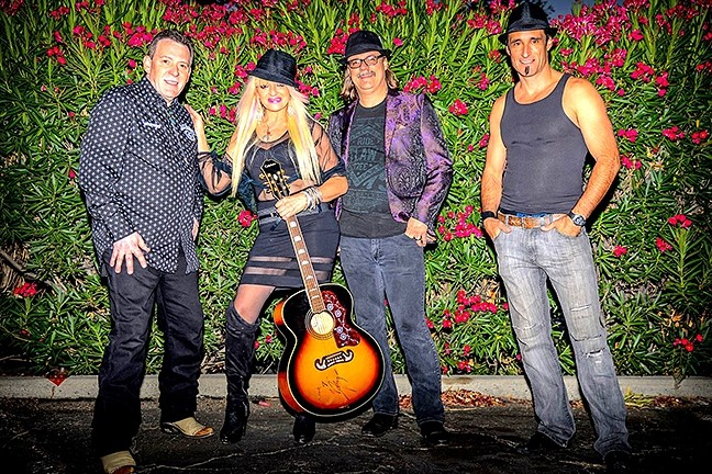 COW PUNKS:  JK and the Rock'n'Souls brings their Americana, country rock, and punk sounds to Manny's in Paso on Nov. 18. - PHOTO COURTESY OF JR AND THE ROCK'N'SOULS
