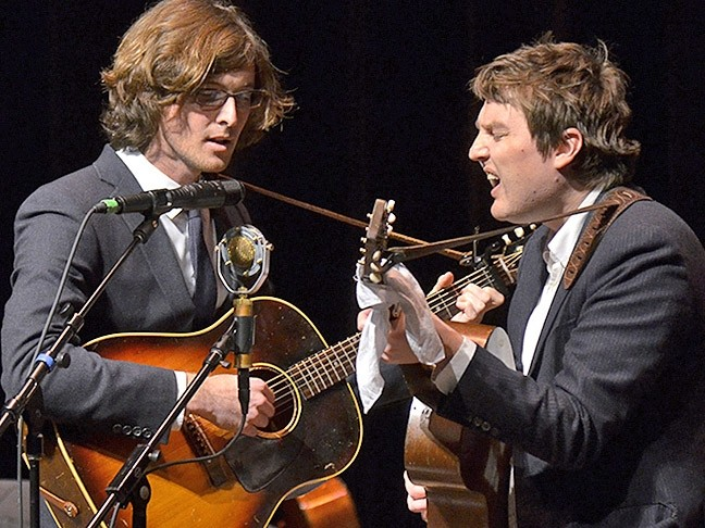 GOOD FOR YA:  Good Medicine Presents has a slew of shows coming next month, including the Milk Carton Kids on Sept. 14 at the Fremont Theatre. - PHOTO COURTESY OF THE MILK CARTOON KIDS