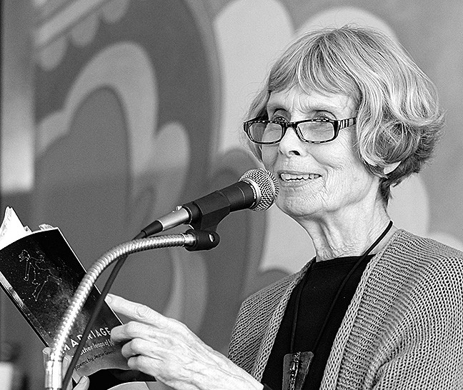 LANGUAGE OF THE SOUL:  SLO County's new poet laureate, Jeanie Greensfelder, takes inspiration from observing the world around her. - PHOTO COURTESY OF JEANIE GREENSFELDER