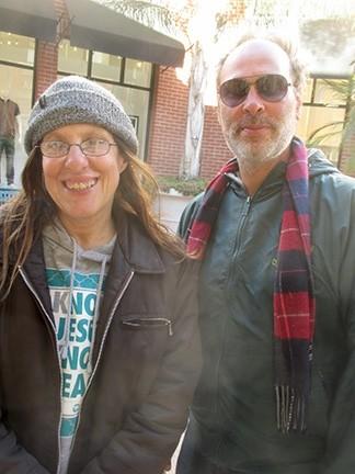 Sandy Forrester and Peter Ingraham Jr.