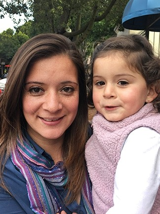 Patricia Eperjesi and her daughter