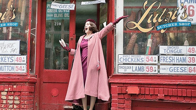 SIMPLY MARVELOUS :  When Midge Maisel's perfect life starts to fall apart; she discovers a hidden talent in 'The Marvelous Mrs. Maisel.' - PHOTO COURTESY OF AMAZON