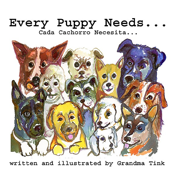 GOOD DOGGOS Copies of Ethel Landers' book, Every Puppy Needs, will be donated to local schools to teach kids about proper pet care. - IMAGE COURTESY OF ETHEL LANDERS