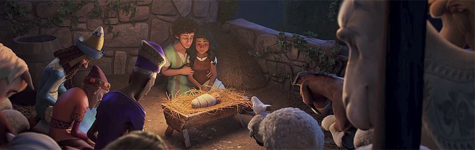 BRIGHTLY SHINING Explore a retelling of the first Christmas in the animated film The Star. - PHOTO COURTESY OF A24