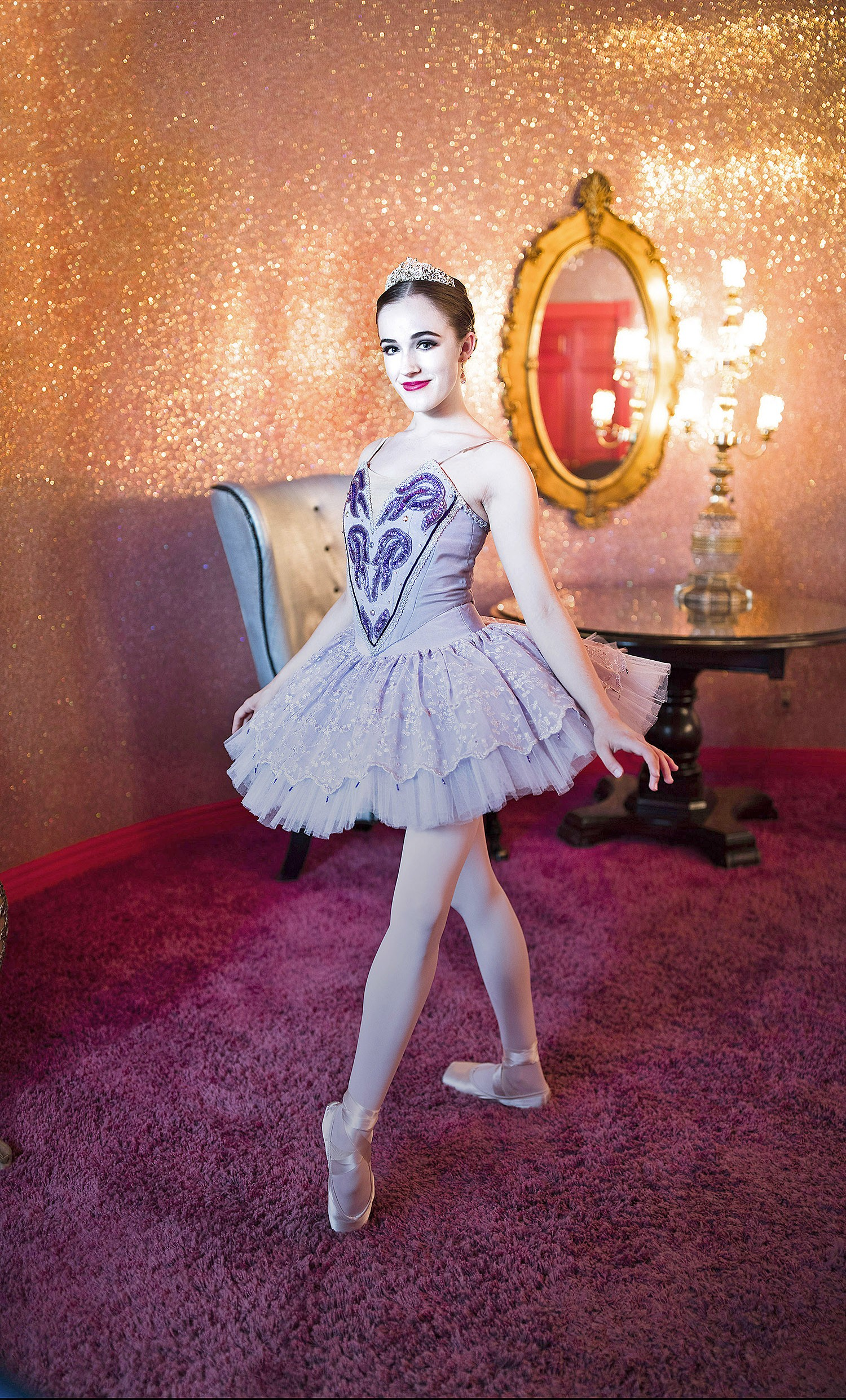 click to enlarge double threat this year civic ballets davan murphy will dance the parts of the sugarplum fairy