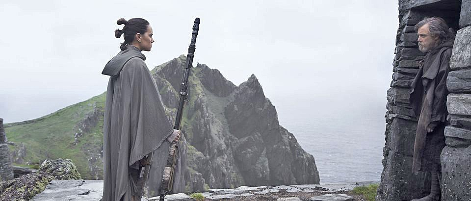 THE END In Star Wars: The Last Jedi galactic legends unlock mysteries from the past. - PHOTO COURTESY OF WALT DISNEY PICTURES