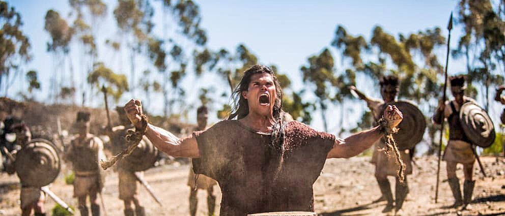 BLESSED In Samson, filmmakers revisit an epic biblical tale about the source of one man's strength. - PHOTO COURTESY OF PURE FLIX ENTERTAINMENT