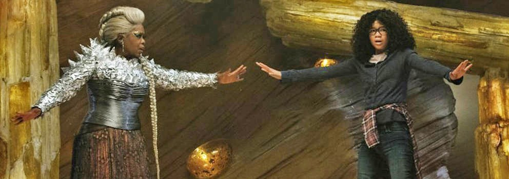 HAPPY MEDIUM Meg Murry (Storm Reid, right) struggles to find balance within herself after the disappearance of her father, even though others, like Mrs. Which (Oprah Winfrey, left), believe in her. - PHOTO COURTESY OF WALT DISNEY PICTURES