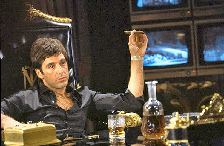 SAY HELLO TO MY LITTLE FRIEND Scarface starring Al Pacino still holds up as an American cinematic classic. - PHOTO COURTESY OF PARAMOUNT PICTURES