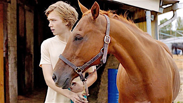 A BOY AND HIS HORSE After moving to a new town with his negligent father, Charley Thompson (Charlie Plummer) forms a special bond with a horse at the local racetrack in Lean On Pete. - PHOTO COURTESY OF A24
