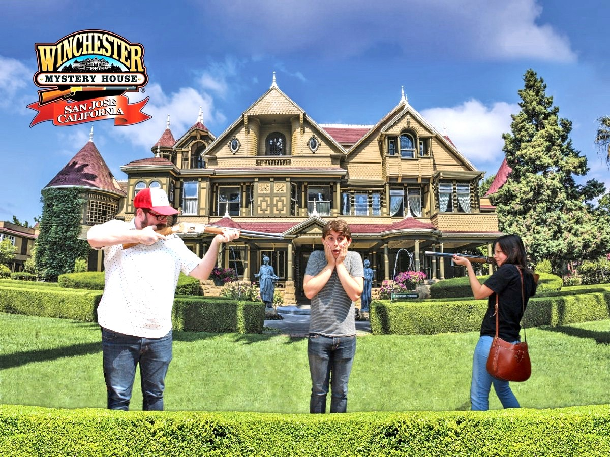exploring the winchester mystery house in san jose get out san