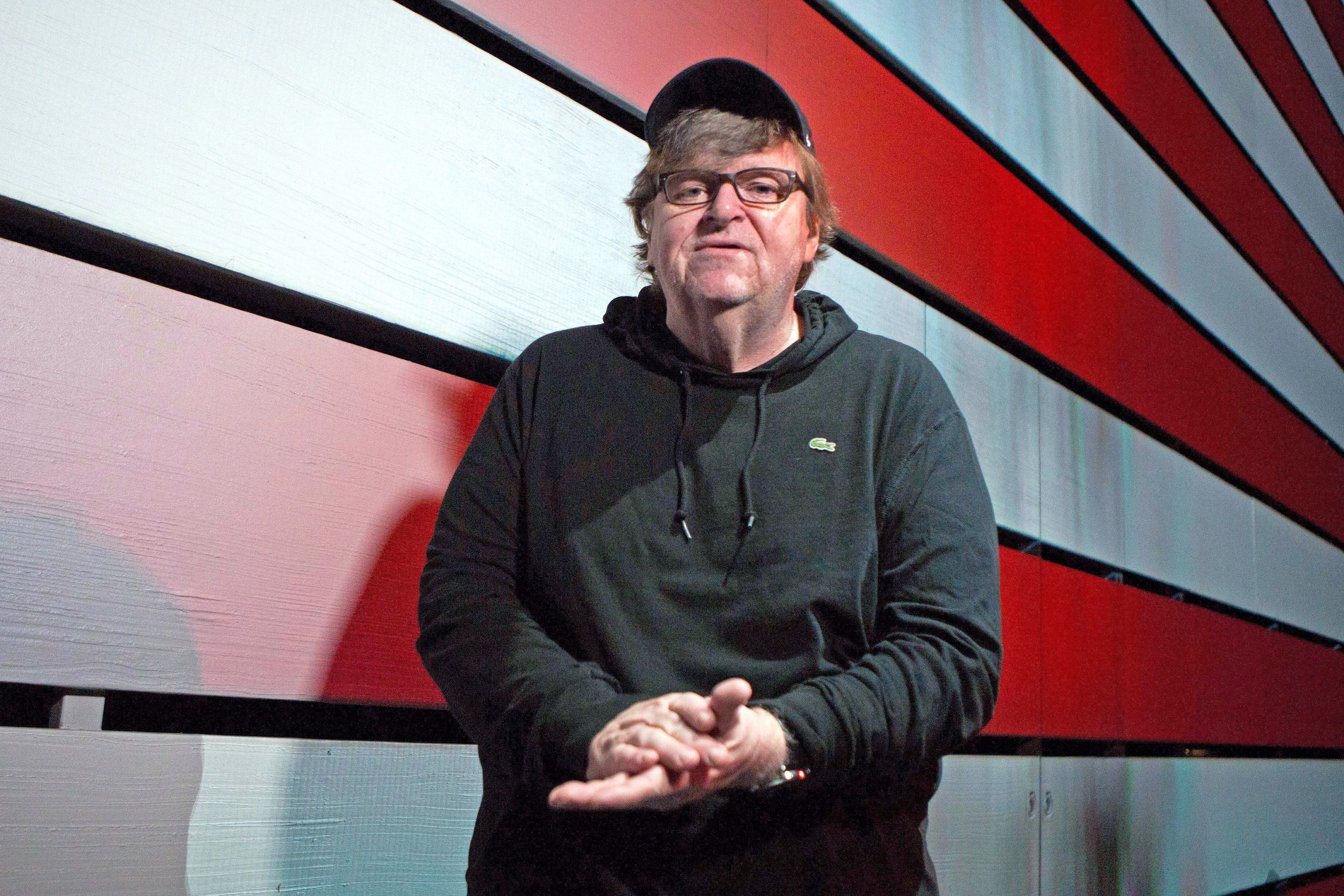 06211aee1 click to enlarge TRUMPING TRUMP Leftist polemicist Michael Moore takes on  the Trump era in his new documentary