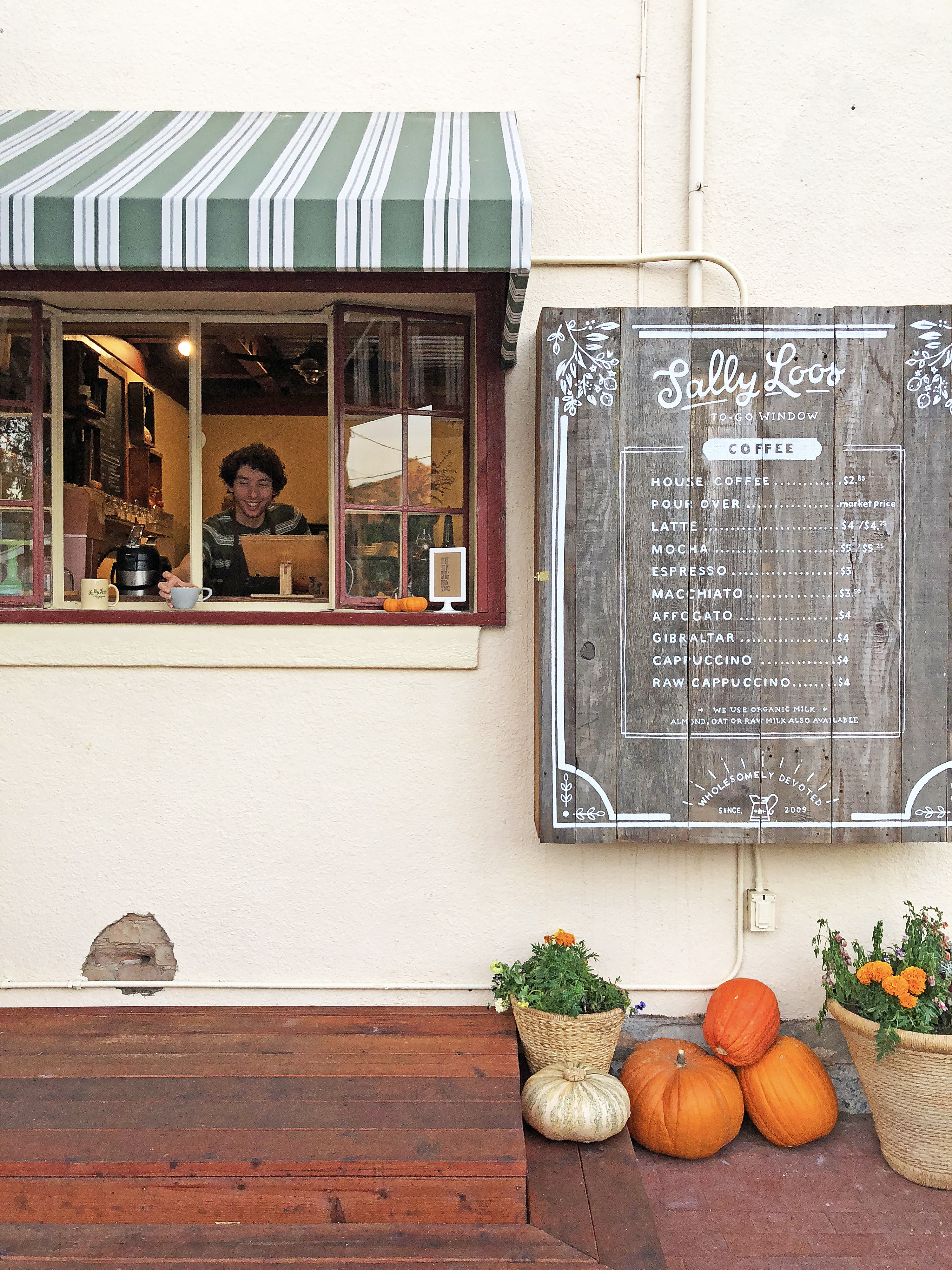 Sally Loo's Wholesome Café opens quick coffee window ...