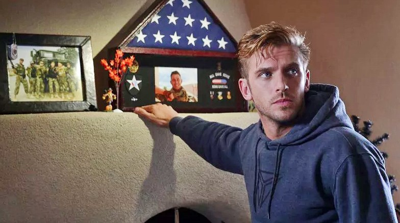 BE OUR GUEST Dan Stevens takes on the chilling role of a veteran who overstays his welcome, in 2014's The Guest. - PHOTO COURTESY OF HANWAY FILMS