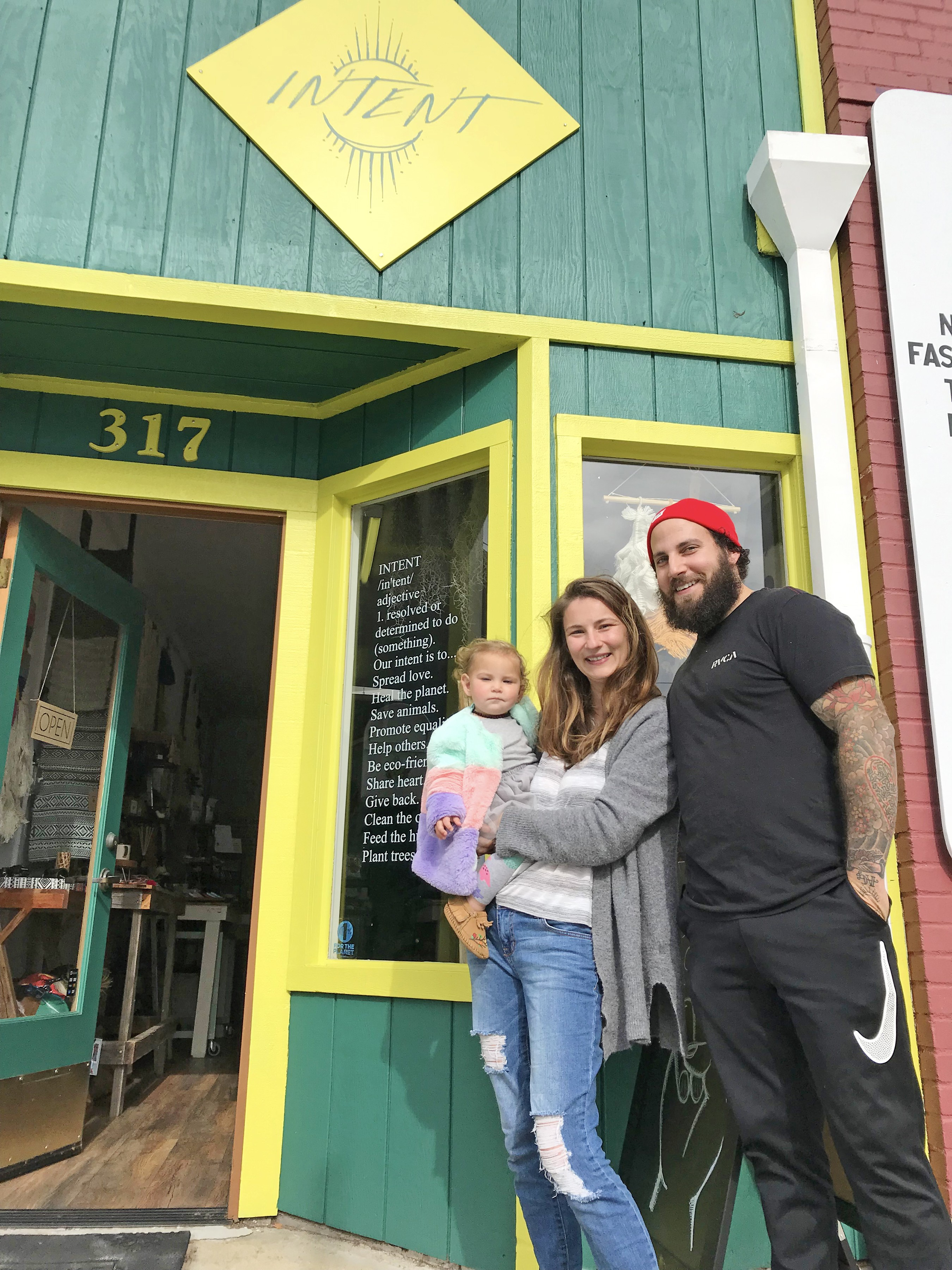 Eclectic Morro Bay boutique Intent is committed to more than