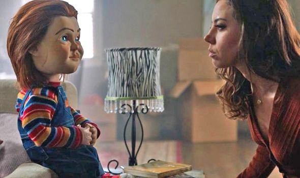 TIME TO PLAY Karen Barclay (Aubrey Plaza) brings home a special present, a seemingly harmless Buddi doll named Chucky (voiced by Mark Hamill), for her son, in the horror reboot, Child's Play. - PHOTO COURTESY OF ORION PICTURES